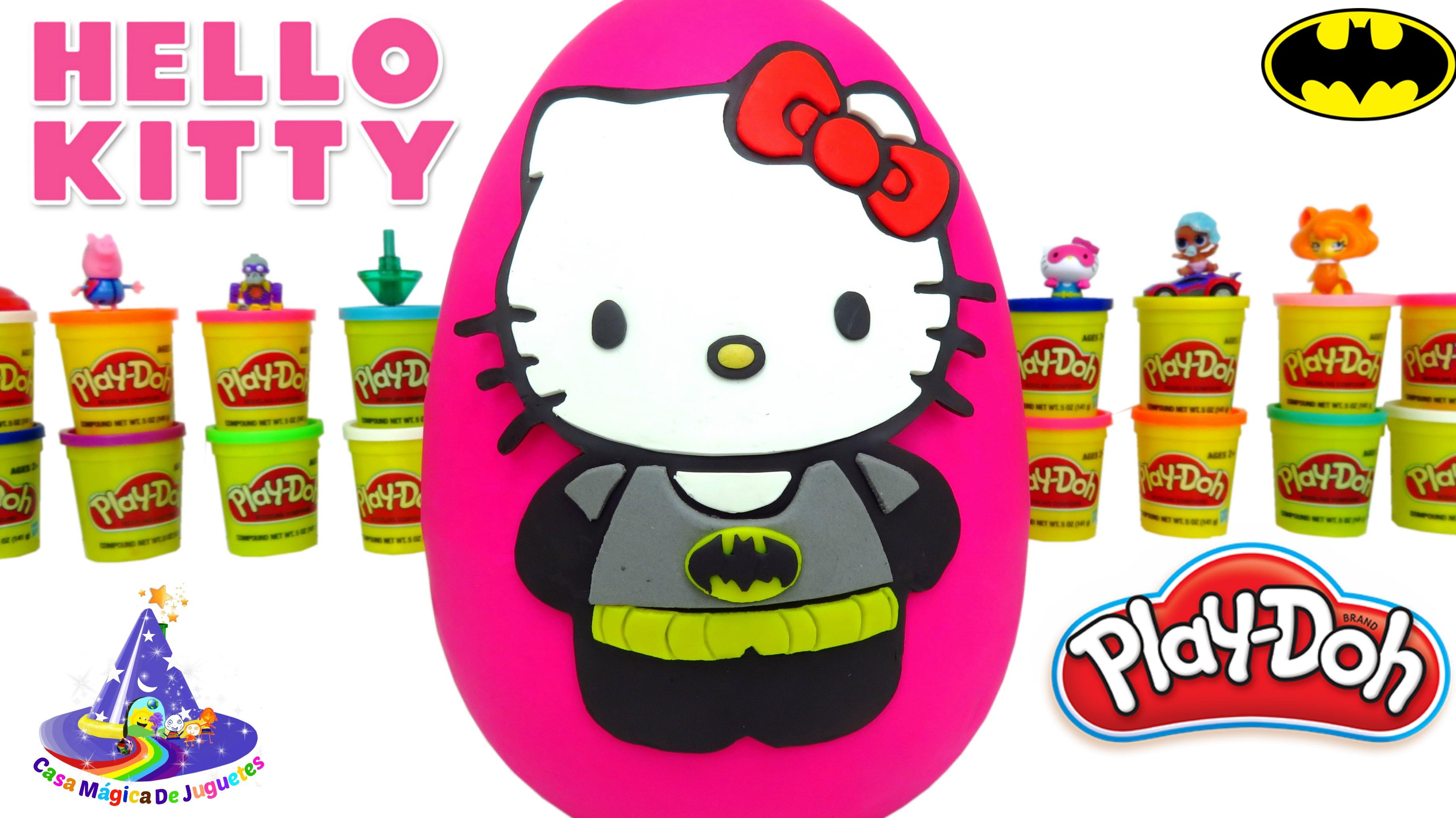 Logo de Hello Huevo de Hello Kitty de Plastilina